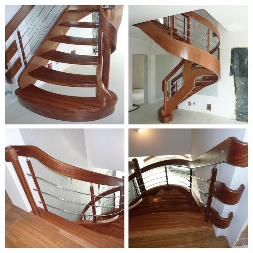 schody drewniane kolaz 11 Schody drewniane Drewrys