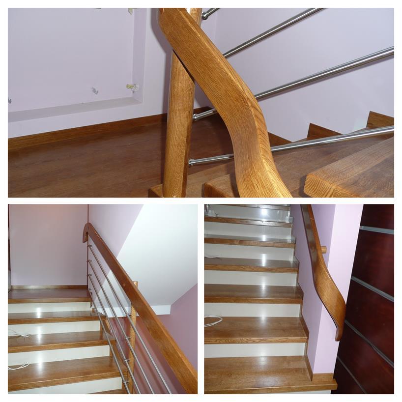 schody drewniane kolaz 13 Schody drewniane Drewrys