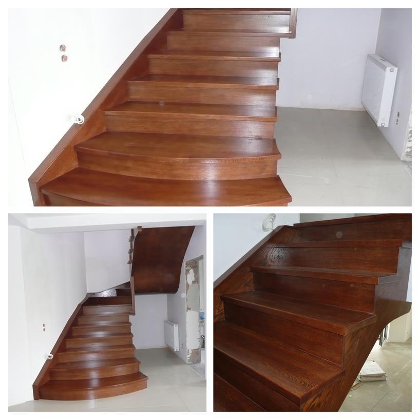 schody drewniane kolaz 14 Schody drewniane Drewrys