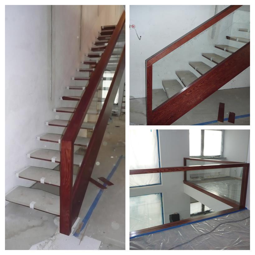 schody drewniane kolaz 16 Schody drewniane Drewrys