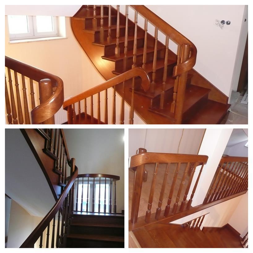 schody drewniane kolaz 18 Schody drewniane Drewrys