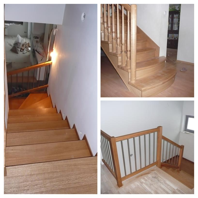 schody drewniane kolaz 2 Schody drewniane Drewrys