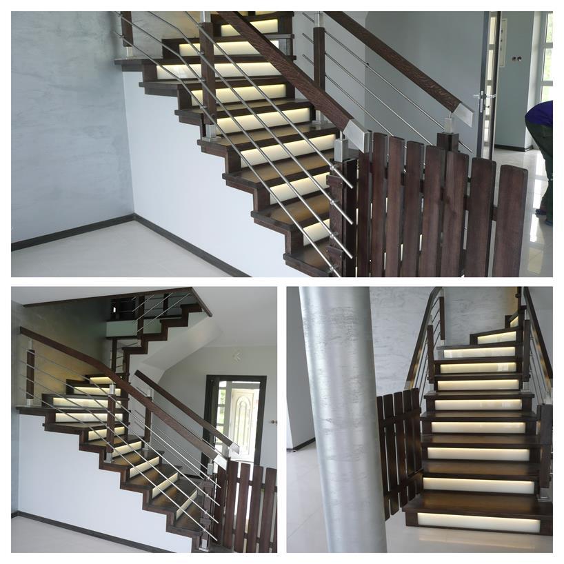 schody drewniane kolaz 21 Schody drewniane Drewrys