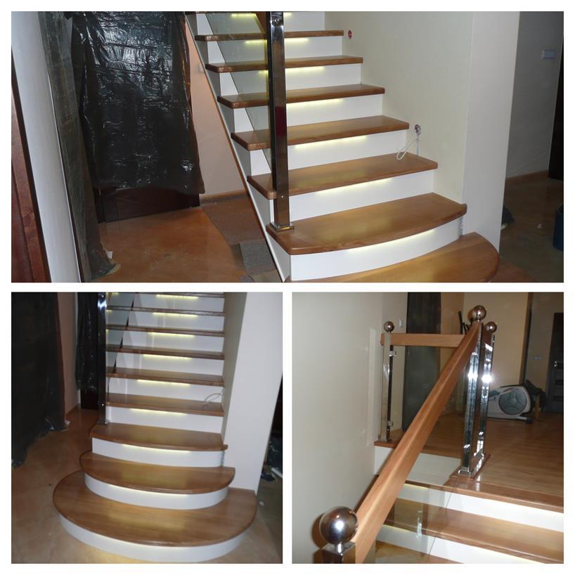 schody drewniane kolaz 22 Schody drewniane Drewrys