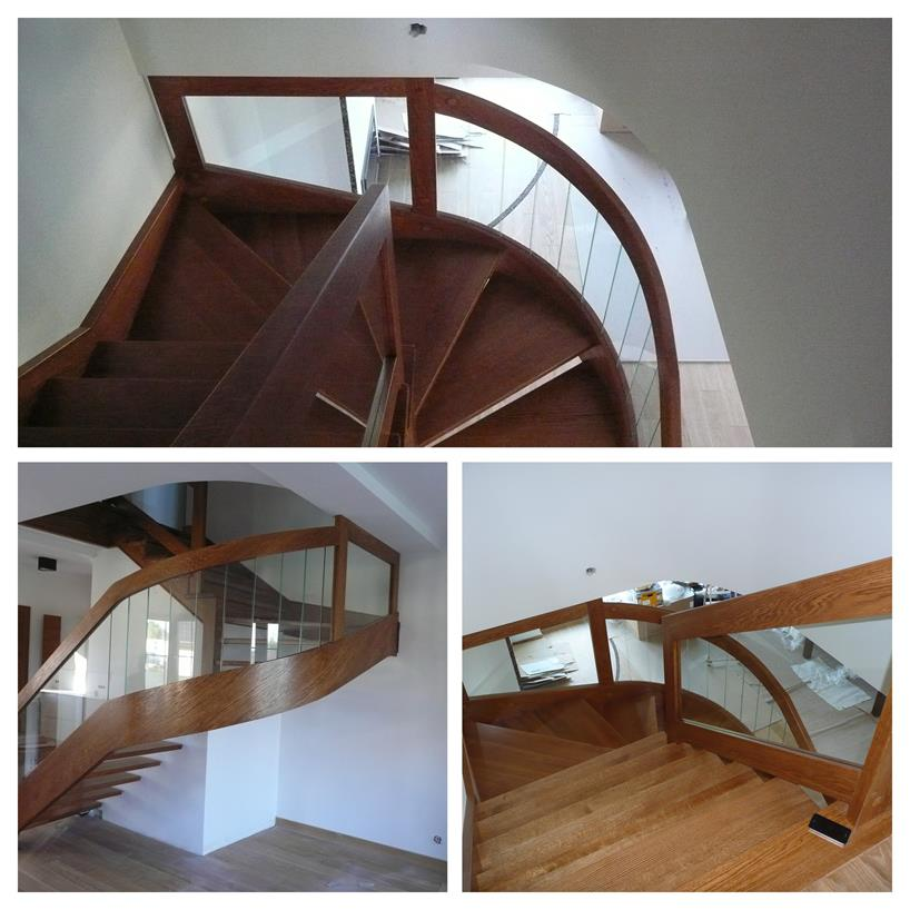 schody drewniane kolaz 23 Schody drewniane Drewrys