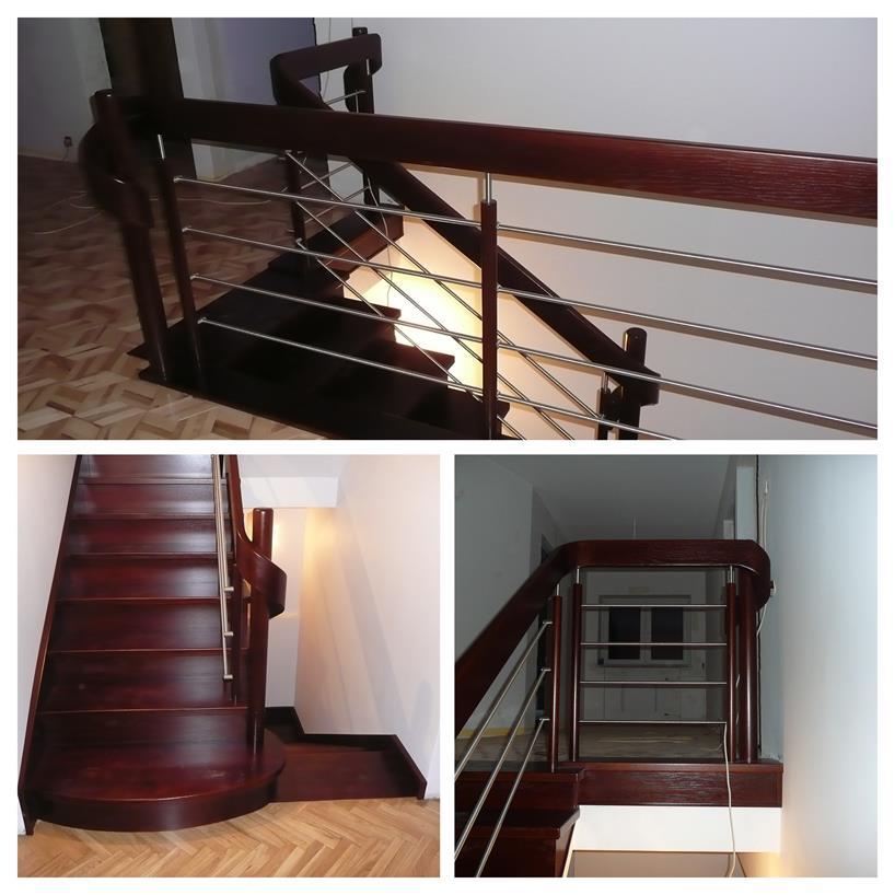 schody drewniane kolaz 24 Schody drewniane Drewrys