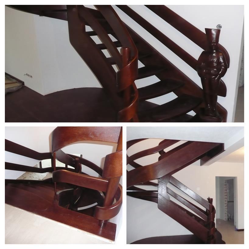 schody drewniane kolaz 25 Schody drewniane Drewrys