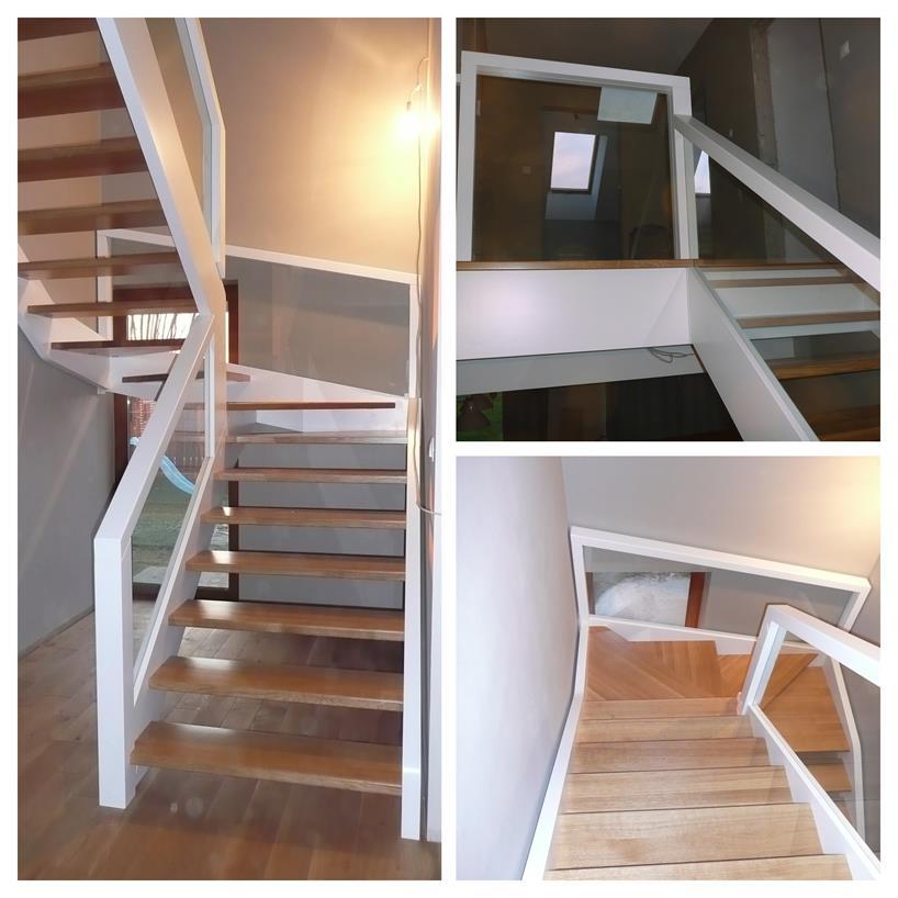 schody drewniane kolaz 26 Schody drewniane Drewrys