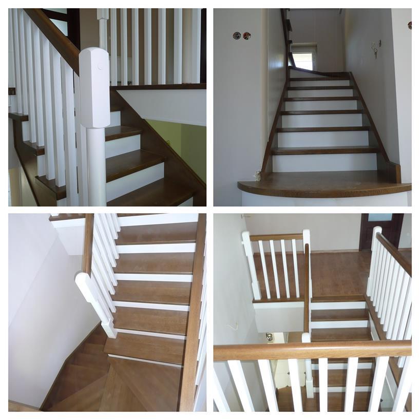 schody drewniane kolaz 29 Schody drewniane Drewrys