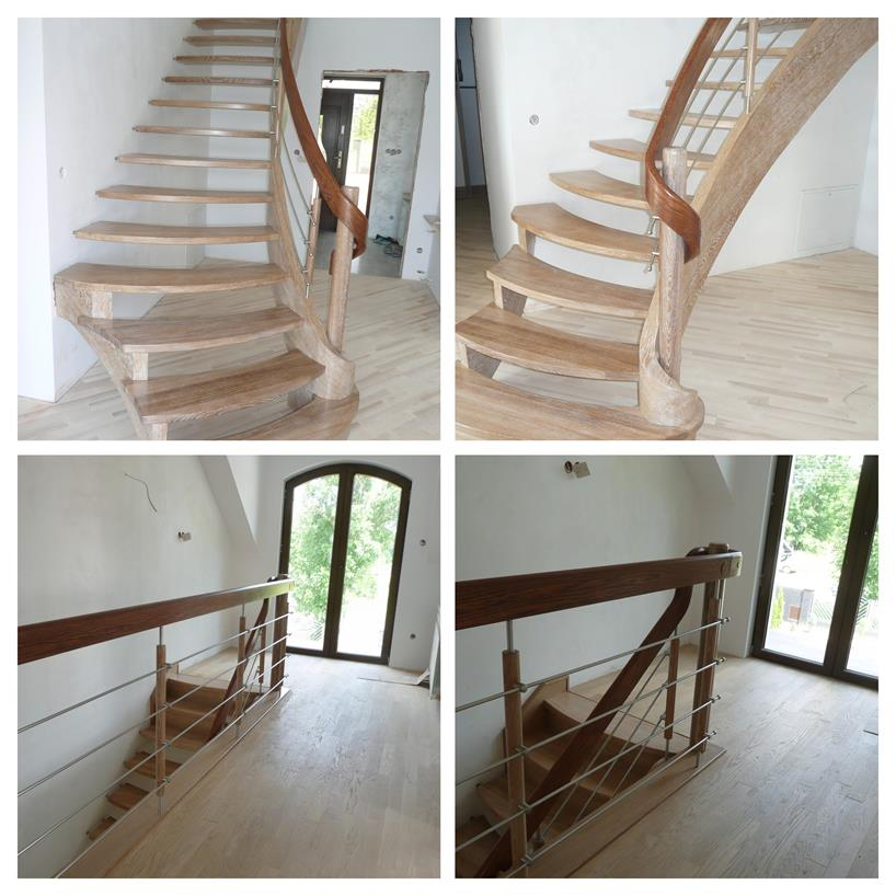 schody drewniane kolaz 30 Schody drewniane Drewrys