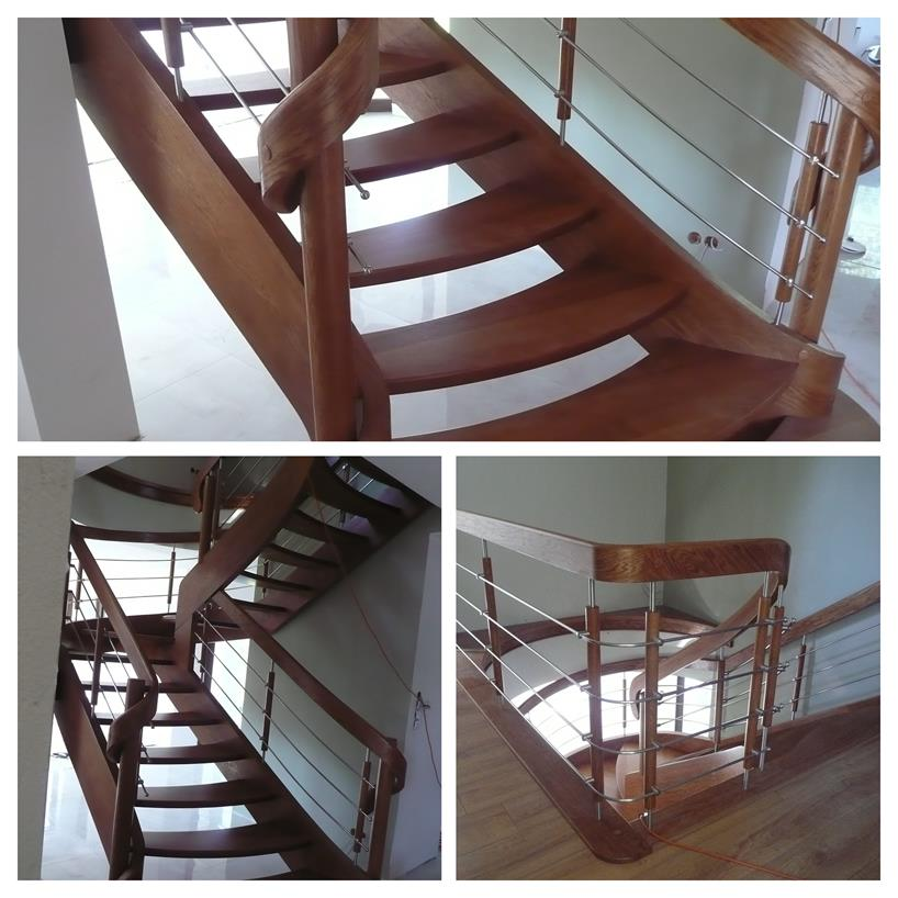 schody drewniane kolaz 31 Schody drewniane Drewrys