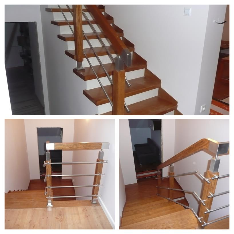 schody drewniane kolaz 32 Schody drewniane Drewrys