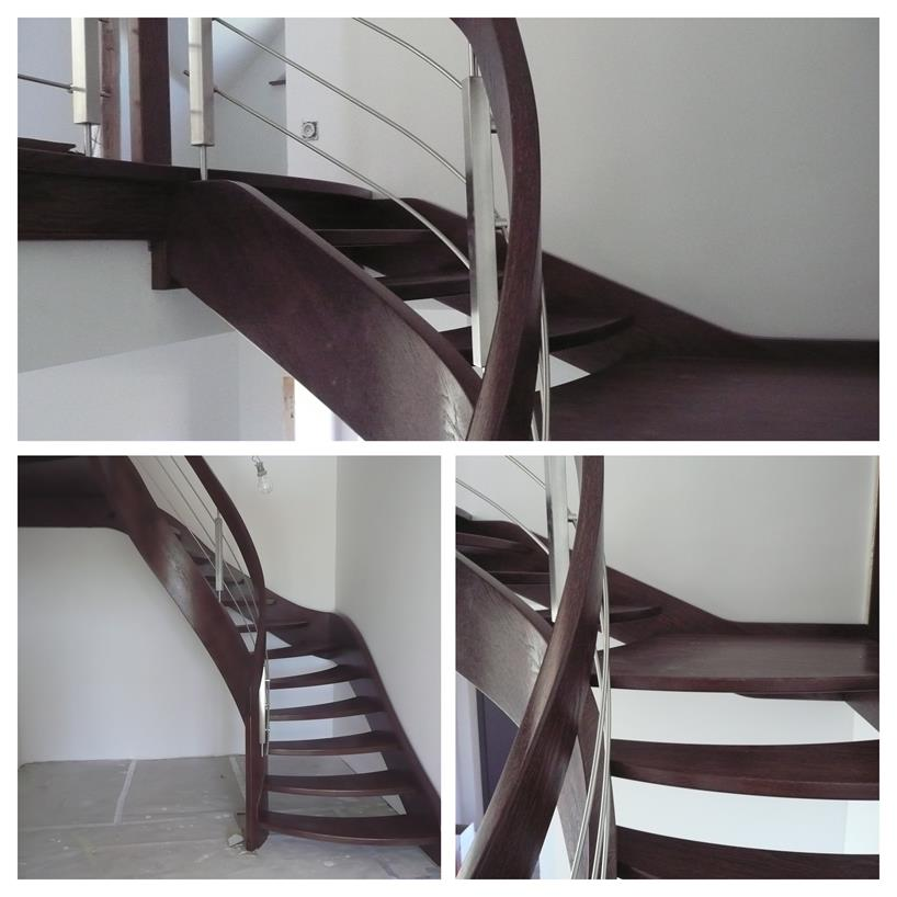 schody drewniane kolaz 34 Schody drewniane Drewrys