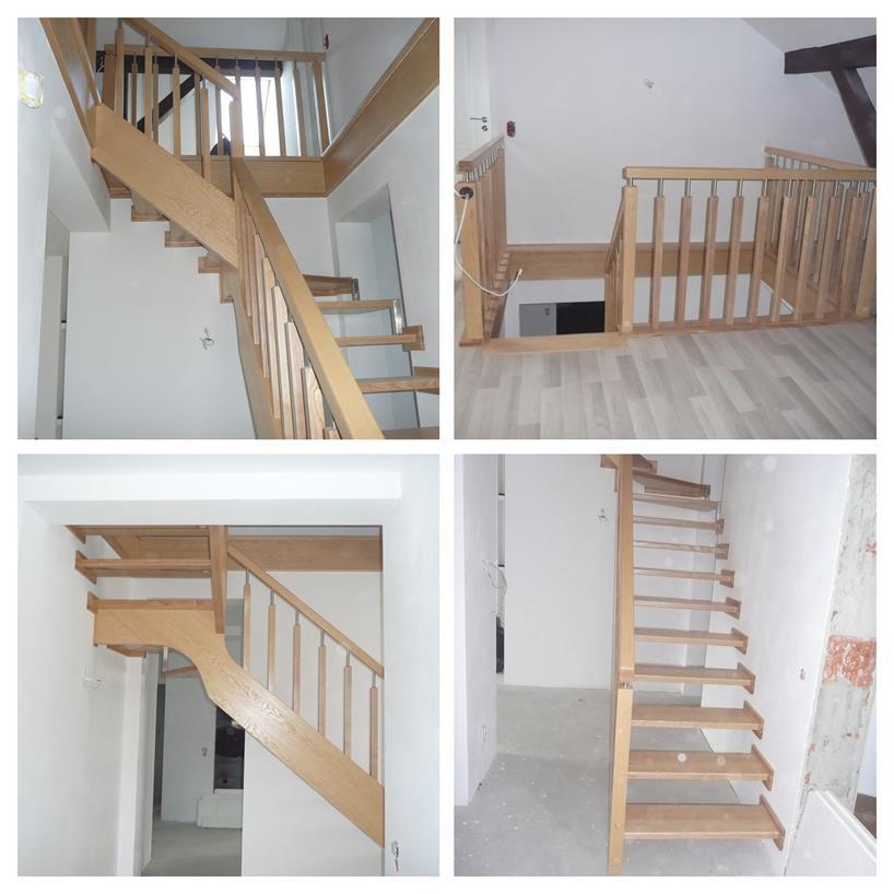 schody drewniane kolaz 35 Schody drewniane Drewrys