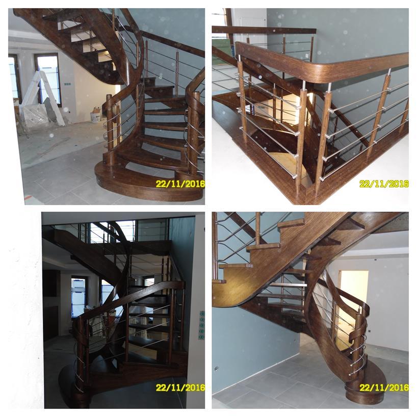 schody drewniane kolaz 38 Schody drewniane Drewrys