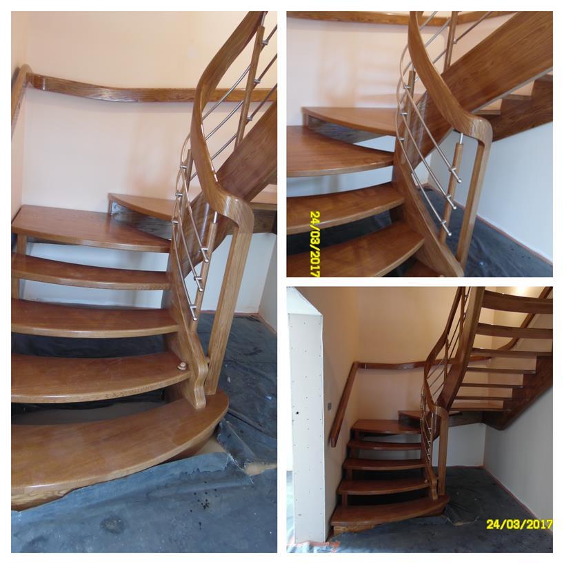 schody drewniane kolaz 42 Schody drewniane Drewrys