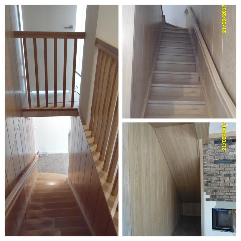 schody drewniane kolaz 44 Schody drewniane Drewrys