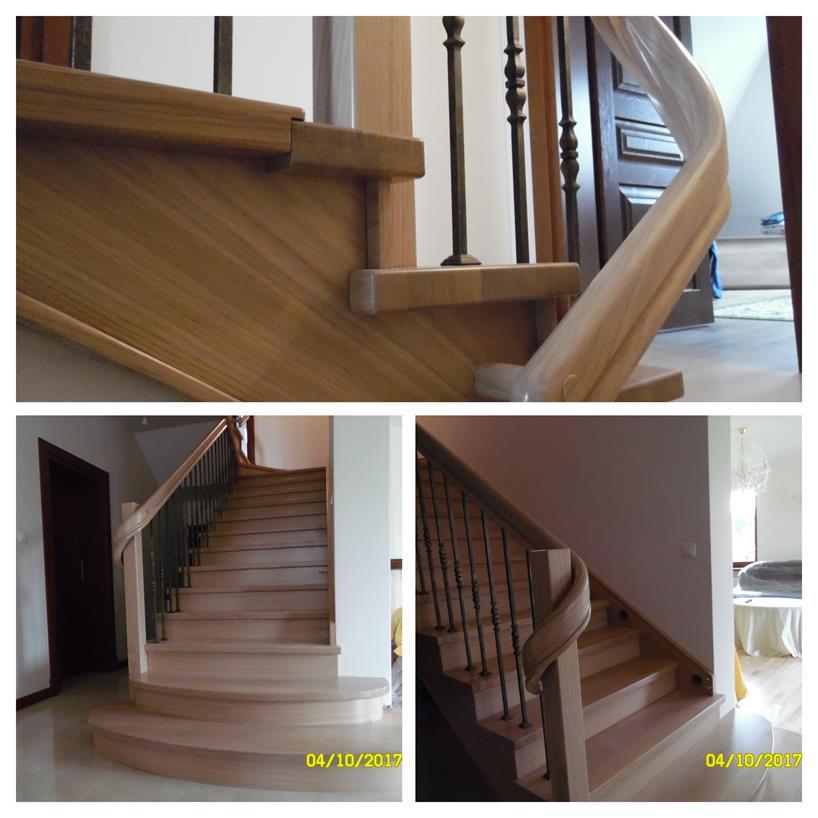 schody drewniane kolaz 45 Schody drewniane Drewrys