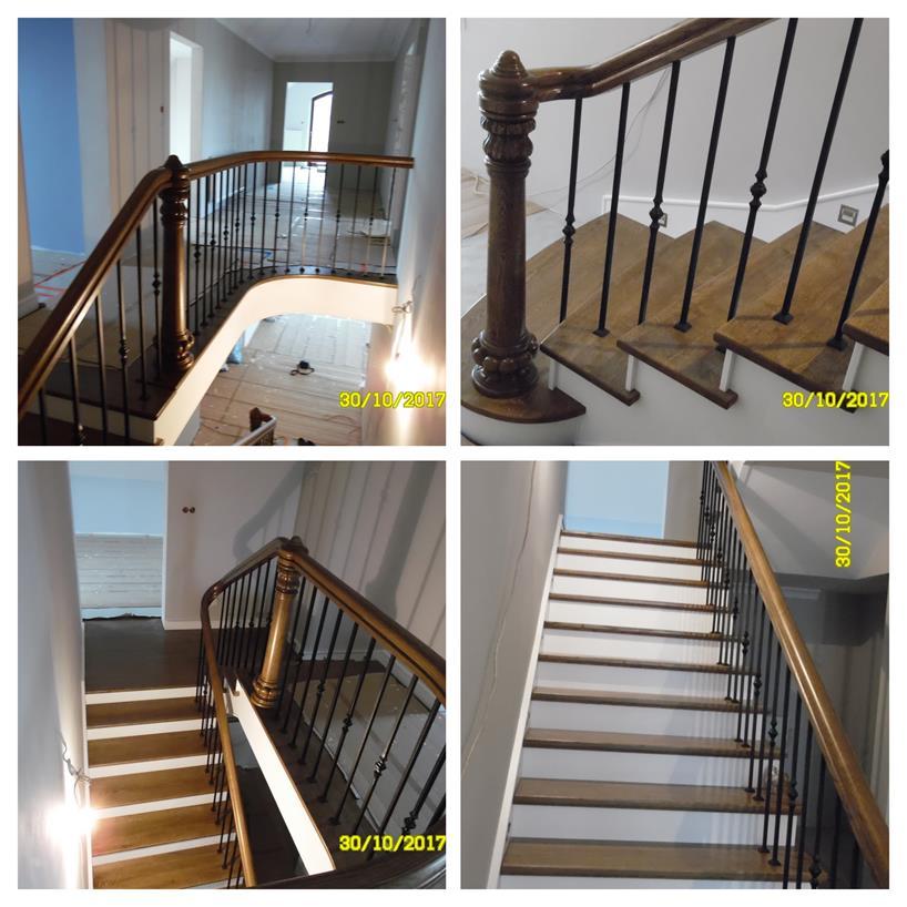 schody drewniane kolaz 46 Schody drewniane Drewrys