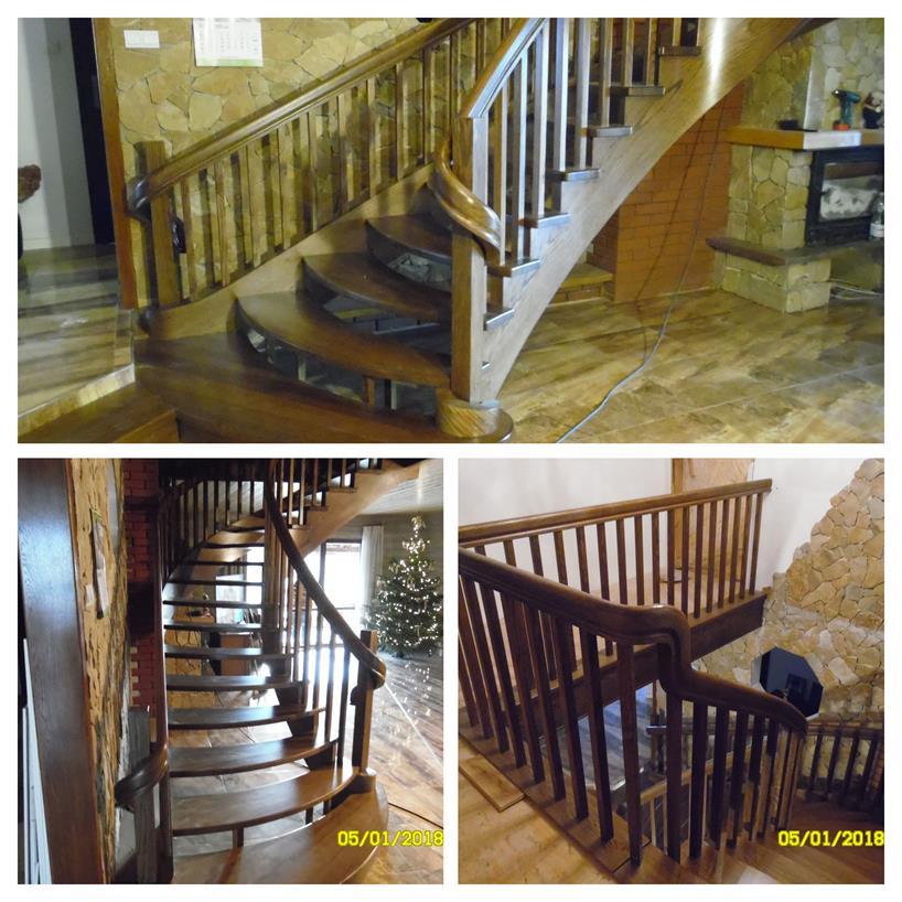 schody drewniane kolaz 47 Schody drewniane Drewrys