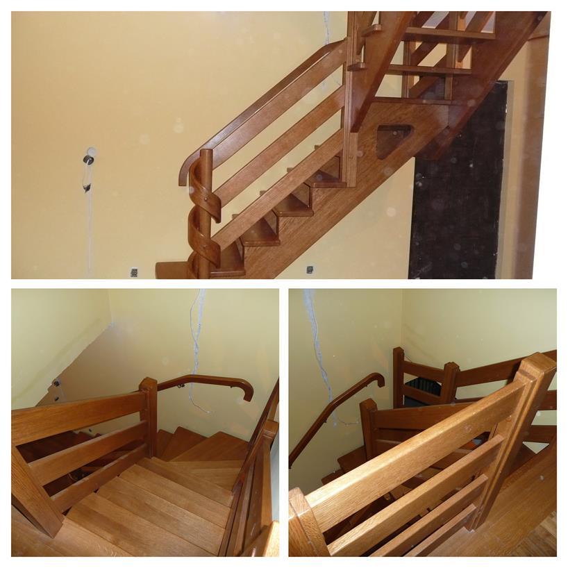 schody drewniane kolaz 49 Schody drewniane Drewrys