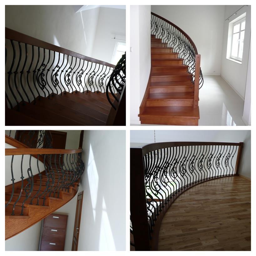 schody drewniane kolaz 6 Schody drewniane Drewrys
