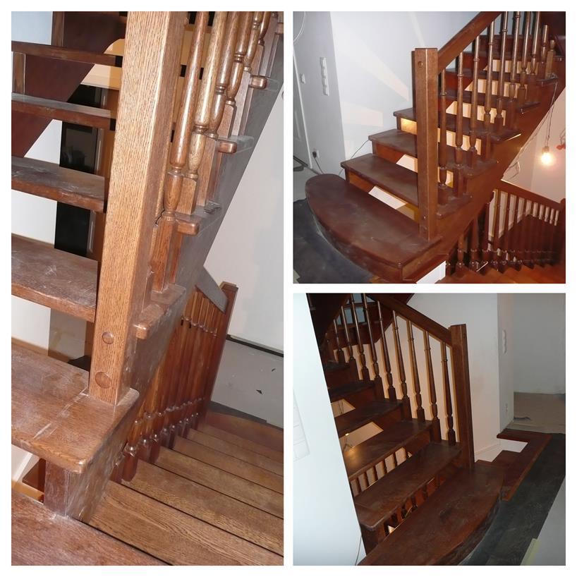 schody drewniane kolaz 8 Schody drewniane Drewrys