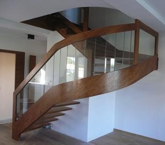 schody giete 1 1 Schody drewniane Drewrys