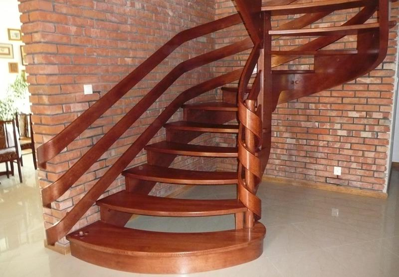 schody giete duze Schody drewniane Drewrys